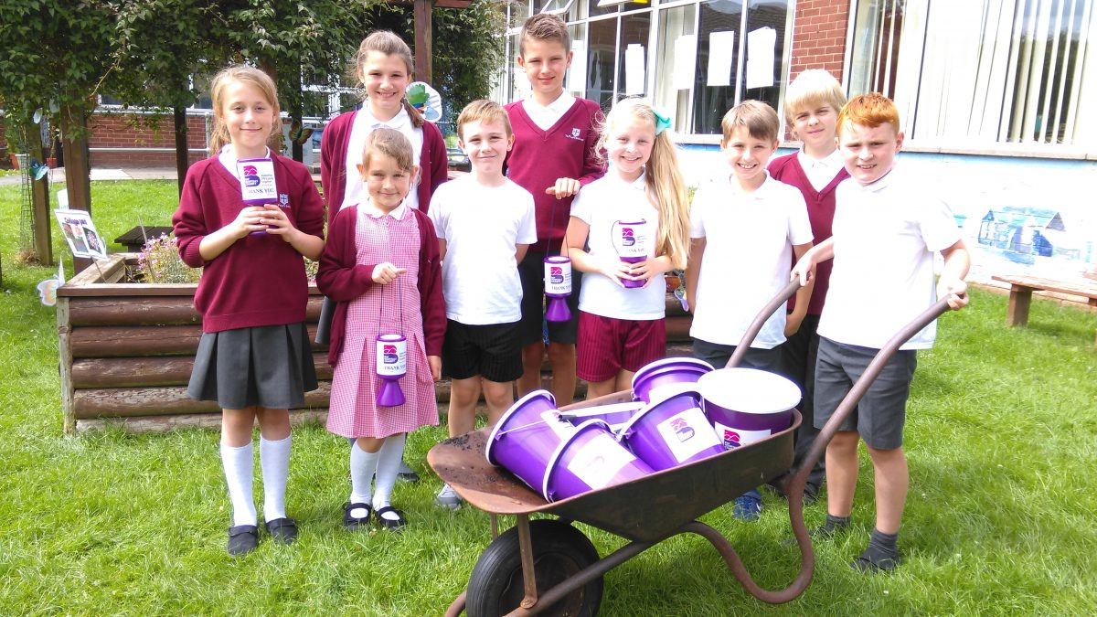 Local school support for the Bayb's Maternity Appeal
