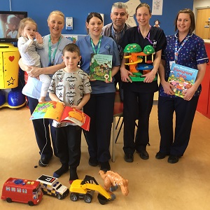Children's Ward at Furness General Hospital needs your Easter donations