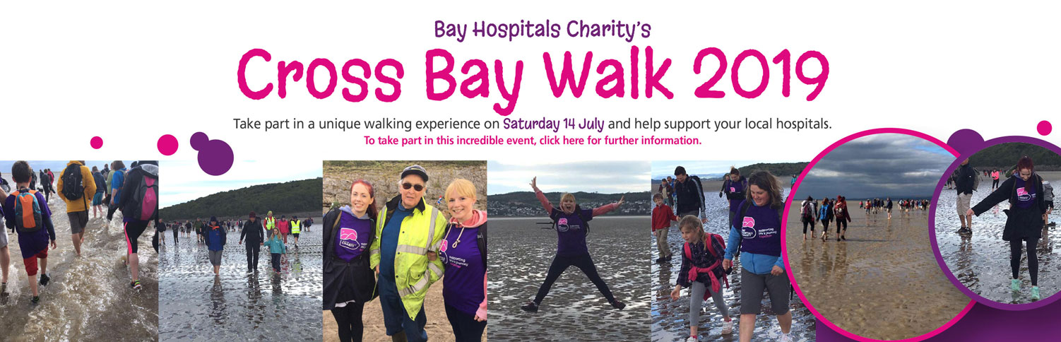 Bay Hospitals Charity - Cross Bay Walk 2019