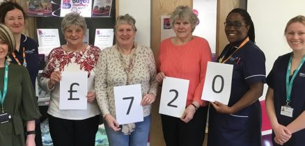 Broughton Ladies Guild are supporting the Bayb's Maternity Appeal