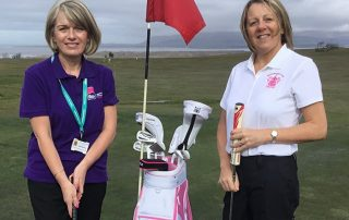 Barrow Golf Club's Lady Captain has chosen to support Bay Hospitals Charity