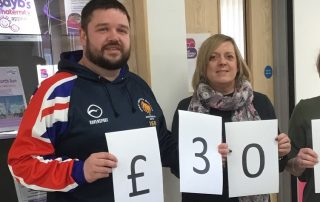 Hindpool Tigers donate to Bayb's Maternity Appeal